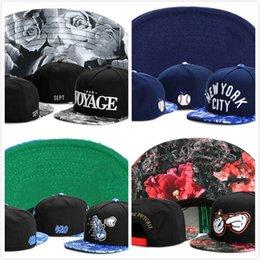 Wholesale New Snapback Era - New 2016 Summer Snapback hat Flower sport hip hop bone baseball gorras snapback cap for women men sun era hat