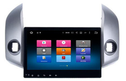 Dvd autoradio für rav4 online-8-Core Android 6.0 8-Zoll-Auto-Dvd-Gps-Navi-Audio für Toyota RAV4 2009-2012 Lenkrad DBA + 1024 * 600,2GBRAM 32 GB