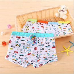 Wholesale Boxers Kids - Boys Underwear Kids Boxer Modal Fabric Panties Cute Full of Cars Pattern Baby Boy Shorts Children Underwares Briefs for Sale