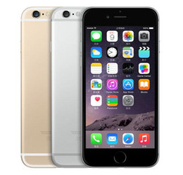 Wholesale Iphone 3g 16 - Unlocked iPhone 6 1GB RAM 4.7inch IOS Dual Core 1.4GHz phone 8.0 MP Camera 3G WCDMA 4G LTE Used 16 64 128GB ROM