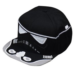 Wholesale Hat War - 2016 New Snapback Baseball Caps Star War Strapback Hip-hop Hats For Men Women The Force Awakens Baseball Sun Hat Snapback hat