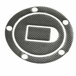 Wholesale r1 stickers - 1pcs Universal Motorcycle Carbon Fiber Tank Pad Tankpad Protector Sticker Cover R1 R6 FZ600 FZ800 FZ1000 Free Shipping