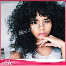 Wholesale Silk Tops For Ladies - Glueless full lace human hair wigs for black women silk top lace front wig with baby hair