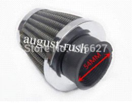 Wholesale Air Filter For Atv - Freeshipping small-displacement Mushroom 54mm AIR FILTER CLEANER for CN250 HELIX 250CC SCOOTER MOPED GO KART BUGGY ATV M53887