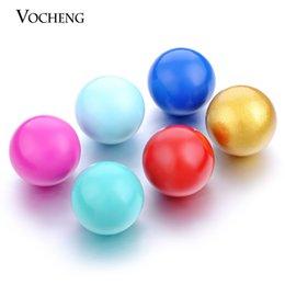 Wholesale Metal Circles - 10color Multicolor 16mm Chime Ball Copper Metal Materials for Pendants Maternity Necklace (VA-007)