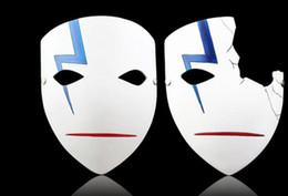 Cosplay negro mas oscuro online-Alta calidad más oscura que las máscaras japonesas negras Cosplay Hei Lee máscaras de anime caliente nueva decoración del hogar Resina de Halloween media / máscara completa