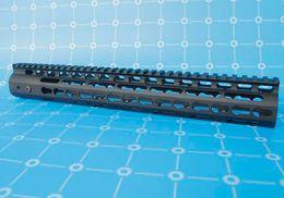 Wholesale Laser Barrels - 15 inch Tactical Free Float Handguard Mount with Steel Barrel Nut & Detachable Rail fit Scope Laser Flashlight