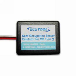 Wholesale Emulator Sensors - Wholesale-Seat Occupancy Occupation Sensor SRS Emulator for Mercedes Benz E W211 SL W230 SLK W171 Airbag Light Reset Tool Type 2