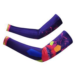 Wholesale Uv Arm Sleeve Xxl - Wholesale-Kiss Cycling Bike Bicycle UV Sun Protection Cuff Sleeve Cover Arm Warmers S-XXL