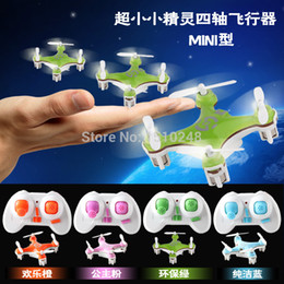 Wholesale R Plane - Wholesale-2015 New Super Elf 2.4G 4CH Remote Control RC Mini 4 Axis UFO Aircraft R   C Toys Built-in Gyro RTF Helicopter LED Light plane