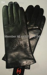 Wholesale Health Brands - Wholesale-New Free shipping Hot selling Environmental health of high-end leather ladies leather gloves warm winter fashion brand wholesale