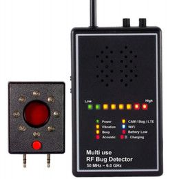 Multi Use RF Bug Detector with Acoustic display Lens Finder Superhighly sensitively Wireless Signal Detector Exposing Camera Lens