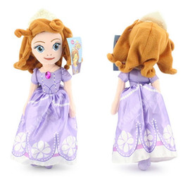 Wholesale First Baby Toy - Sofia the First Children's Toys Girls Dolls Princess Baby Toy Retail Free Shipping