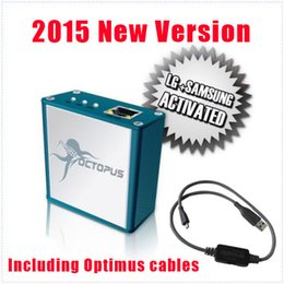 Wholesale Unlock Lg - 2015 New Version Full activated Octopus Box for LG and for Samsung with 19cables(with optimus cable) Unlock Flash & Repair DHL Free shipping