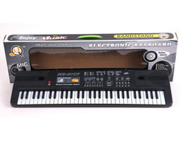 Wholesale Electronic Organ Keyboards - 61 keys midi controller electronic organ analog synthesizer musical instrument keyboard electronic piano for children as a gift