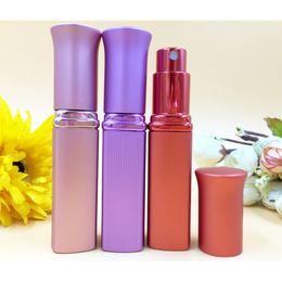 Wholesale Travel Atomiser - Portable Cute Perfume Bottle 6ml Refillable Travel Fragrance Scented Atomiser Spray Bottle Women Favors Discount DC759