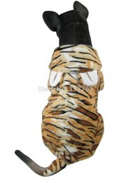 Wholesale Tiger Design Clothes - Wholesale-New Tiger Design For Medium Large Dogs Pet Dogs Cosplay Free Shipping large dogs clothing