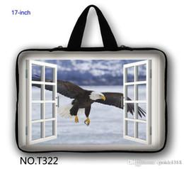 "Wholesale G7 Window - Stylish Eagle Window 17"" 17.3"" Pink Laptop Netbook Bag Sleeve Case+Hide Handle For HP Pavilion G7 DV7"