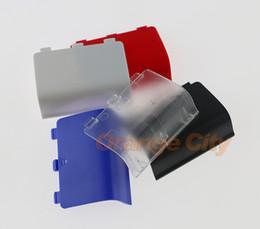 2019 conchas xbox Cores da bateria case capa shell para xbox one xboxone controlador sem fio acendeu a porta da bateria recarregável conchas xbox barato