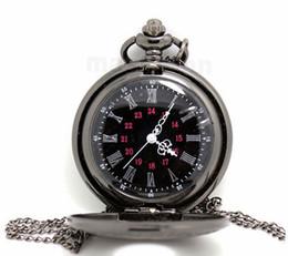 2019 relógios de mesa antiga Preto clássico Roman Pocket watch relógio de bolso do vintage Das Mulheres Dos Homens modelos antigos Tuo relógio de mesa PW025
