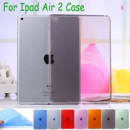 Wholesale Transparent Cover Ipad Mini - Ultra-thin Transparent Crystal Raindrops Skin Durable Silicon Soft TPU Cover for ipad Air2 Air 2 ipad mini 2 3 4 Tablet Case