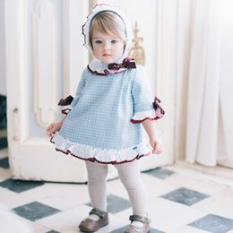 Wholesale Toddler Holiday Pageant Dress - Toddler Baby Girls Princess Dress Christmas Round Neck Children Costume Kids Party Pageant Girl Holiday XMAS Dresses