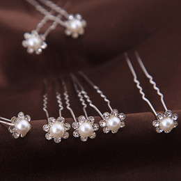 Wholesale Cheap Hair Accessories Free Shipping - 2016 hot Hairpins Wonderful free Shipping High Quality Cheap Beautiful Pearl Wedding Bridal Flora Tiaras Hair Accessory Headpiece