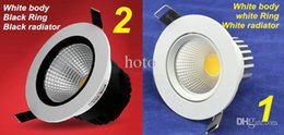 Wholesale Downlight Ip44 - Wholesale-High Quality Dimmable Recessed led downlight cob 7W 10W15W dimming LED Spot light led ceiling lamp110V 220V home luminaire IP44
