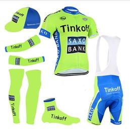 Wholesale Team Saxo Bank Shirt - 5 Pieces   lot New 2016 Cycling Jersey sets team Tinkoff saxo bank bicicleta maillot ciclismo Bicycle cycling clothing MTB shirts 3d gel pad