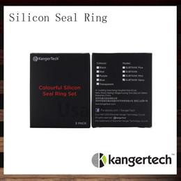 Wholesale sealed atomizer - Kangertech Colorful Silicone Seal O Ring Set For Kanger Subtank Plus Atomizer Sutank Mini Sutank Nano Clearomizer O Rings Set