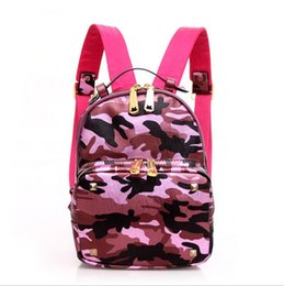 Wholesale Nylon Zipper Bags For Retail - Free shipping hot sell Wholesale and retail 2016 new fashion mini backpack handbag climbing camouflage bag ( 4 color for pick)