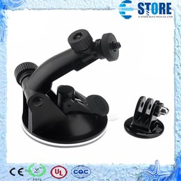 Wholesale Diving Mask Camera Hd - Gopro accessories car Suction Cup Mount For Go Pro sports Camera HD HERO 1 2 3 free shipping