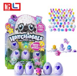 Wholesale Wholesale Nesting - Hatchimal Eggs Collection 1 Nest 4 Eggs + Bonus Baby Novelty toy Chrimas Gifts for Kids Free Ship via DHL