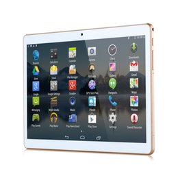 "Wholesale 4g Flash - 10""Tablet PC Eight Core Andriod 5.1 3G 4G MTK6592 phone dual card camera 2 + rear 5 million pixel flash IPS 4GB 32GB Bluetooth GPS naviga"