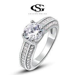 Wholesale Platinum Women S Wedding Band - 015 G&S party jewelry gift Platinum Plating Fashion Classic Wedding Rings Arrow Rings For Women Fashion Jewelry women rings
