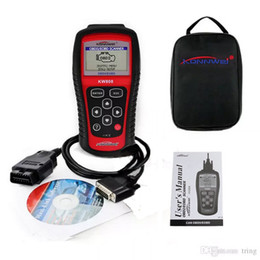 Wholesale Daewoo Diagnostic Tool - KW808 Vehicle Diagnostic Tool OBD2 OBDII LCD Scantool Auto Truck Diagnostic Scanner Computer Vehicle Fault Code Reader Scan