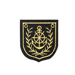 Canada 10 PCS Anchor Badge Patches pour vêtements Sacs Fer sur Transfert Applique Patch pour Veste Jeans Coudre sur Broderie Badge DIY cheap anchor applique Offre