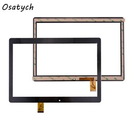 Wholesale mf black - Wholesale- 10.1 inch Touch Screen for MF-872-101F FPC Digitizer Glass Panel Black Replacement Digitizer with Free Repair Tools