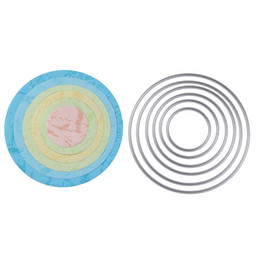 Wholesale Carbon Elements - Basic Circle element scrapbooking DIY Carbon Sharp Metal steel cutting die Dancing Book photo album art card Dies Cut q171128