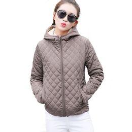 Wholesale Female Winter Parka - Wholesale- Autumn 2017 Parkas basic jackets Female Women Winter plus velvet lamb hooded Coats Cotton Winter Jacket Womens Outwear coat