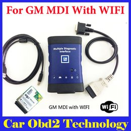 Wholesale Mdi Software - Best Quality for GM MDI Multiple Diagnostic Interface with Wifi Card for GM MDI Auto Scanner Without Software by DHL Free