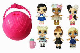 Wholesale Nano Balls - LOL SURPRISE DOLL Series 2 Dress Up Toys Kids Gifts With Retail Box Blind Mystery Ball Online Sale