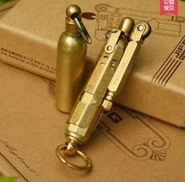 Canada Briquet de tranchée de laiton de la première guerre mondiale allume-cigare vieux allemand en laiton de cuivre de cuivre Offre