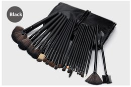 Wholesale Hair Color Kits - NEW 24 Makeup Brushes 24 Pink Makeup Brush Wood color Makeup Brush Set Beauty make-up series