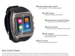 """Wholesale Gsm Watch Phone 3g - Exclusive 1.54"""" WiFi+GPS+SIM+3G+GSM+Google Play Store  Pedometer+Heart Rate Monitor Options Android Smart Watch Smart Phone"""