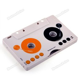 Wholesale Sd Tape Player - Wholesale-bottomprice popular Car MP3 Player Tape Cassette Adapter for SD MMC Reader more earning