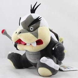 Wholesale Koopalings Mario Bros - Wholesale-Super Mario Bros 7inch Morton Koopa Jr. Koopalings Plush Doll Toy