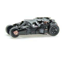 Modelos de batman online-Juguete de aleación para automóvil, modelo Mini Batmobile, juguete de Batman de dibujos animados, simulación de alta calidad, para regalos de niños, recolección, decoración, envío gratis