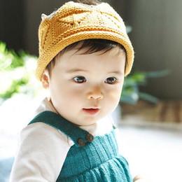 Bebé Sombreros de ganchillo Sombreros de los niños Moda Coreana Sombreros de los niños 2016 Corona Beanie Sombrero Gorras de lana Gorro Niños Niñas de punto Beanie Sombrero Niños Cap C19897 desde fabricantes