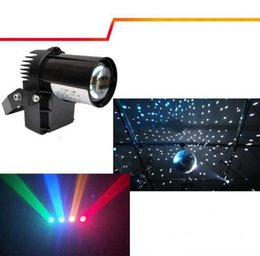 Wholesale Club Decor - 10W RGBW Cree lamp 4in1 LED Pinspot Light DMX 512 control LED Rain stage light KTV DJ Club Party light Decor Lighting Black White cover